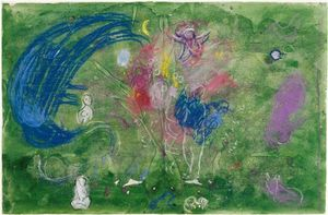 Marc Chagall - Paradies 12