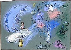 Marc Chagall - Paradies 13