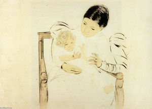Mary Stevenson Cassatt - Die Befooted Child