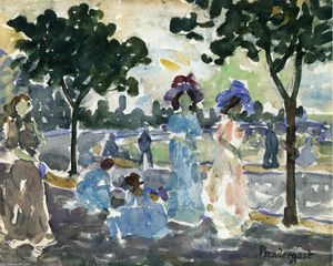 Maurice Brazil Prendergast - Road to the Shore