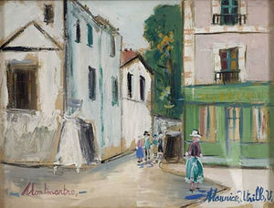 Maurice Utrillo - Belle Gabrielle