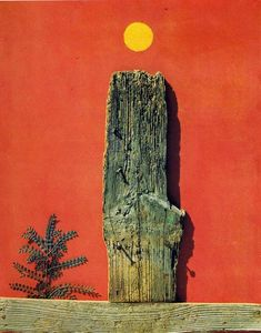 Max Ernst - roter wald