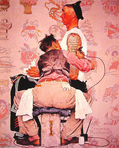 Norman Rockwell - Die Tattooist
