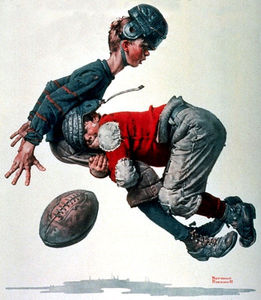 Norman Rockwell - Clown