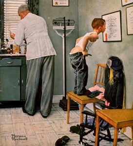Norman Rockwell - Arzt
