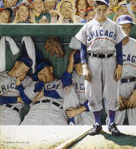 Norman Rockwell - jeers von crowd