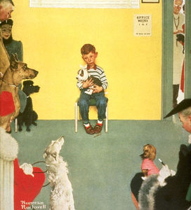 Norman Rockwell - Tierarzt