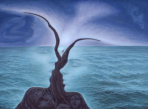 Octavio Ocampo - Kiss of the Sea