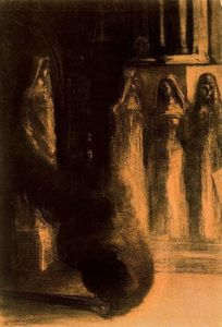 Odilon Redon - The Black Torches