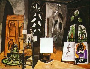 Pablo Picasso - Studio von -California-- in cannes