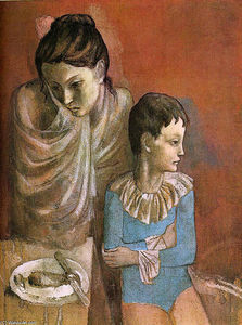 Pablo Picasso - Mutter und kind ( Baladins )