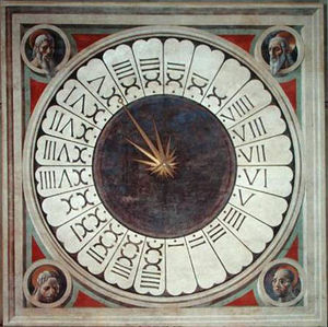 Paolo Uccello - 24 stundenuhr