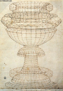 Paolo Uccello - Vase in perspektive
