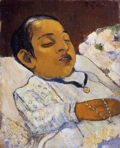 Paul Gauguin - Portrait Atiti