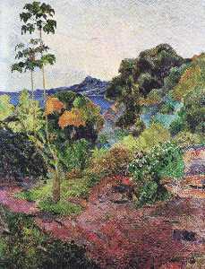 Paul Gauguin - Martinique Landschaft