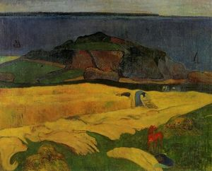 Paul Gauguin - Seaside ernte