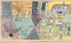 Paul Klee - Asiat entertainer