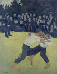 Paul Serusier - Die Wrestling Bretons
