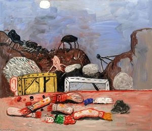 Philip Guston - Mond