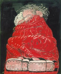 Philip Guston - schlafend