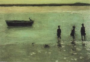 Philip Wilson Steer - Strand in Etaples
