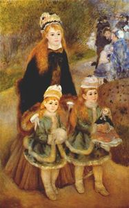Pierre-Auguste Renoir - mutter und kinder