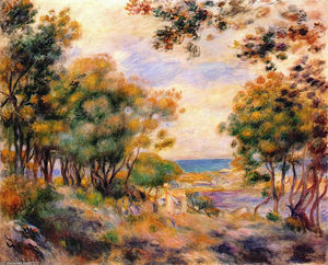 Pierre-Auguste Renoir - Landschaft in Beaulieu