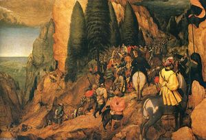 Pieter Bruegel The Elder - Conversion of Str . Paul