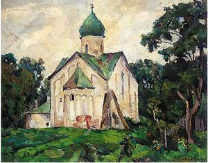 Pyotr Konchalovsky - null . Peter und Paul Church .