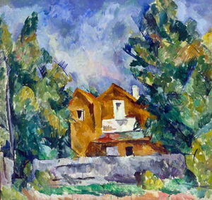 Pyotr Konchalovsky - Cottage in Kuntsevo