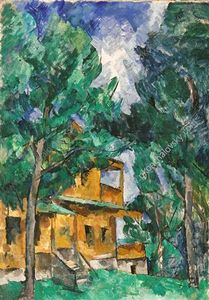 Pyotr Konchalovsky - Kuntsevo. Yellow Cottage.