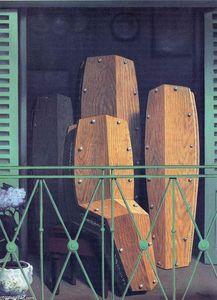 die leere maske l auf leinwand von rene magritte 1898 1967 belgium. Black Bedroom Furniture Sets. Home Design Ideas