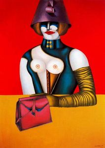 Richard Lindner - westen 48th STRASSE