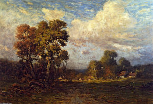 Robert Julian Onderdonk - East Loyal Feld