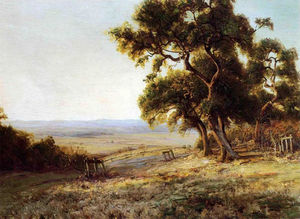 Robert Julian Onderdonk - spät nachmittag , Valley of der Leon