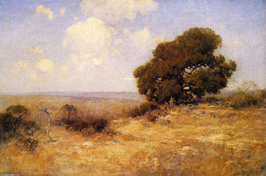 Robert Julian Onderdonk - Misty Morning