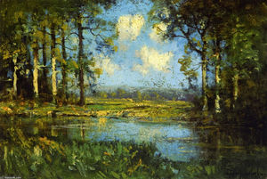 Robert Julian Onderdonk - Die Woodland Pool