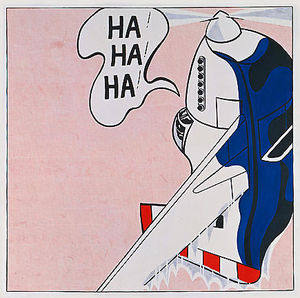 Roy Lichtenstein - Live-munition ( Ha ! Ha ! Ha ! )