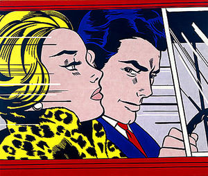 Roy Lichtenstein - in der Auto