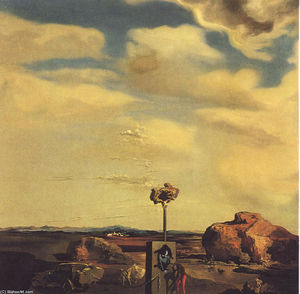 Salvador Dali - Puzzle of Autumn