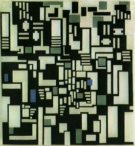 Theo Van Doesburg - Composition IX, opus 18, 1917