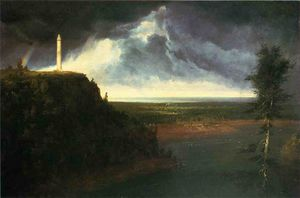 Thomas Cole - Brock`s-Monument