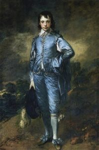 Thomas Gainsborough - The Blue Boy (Portrait des Jonathan Buttall)