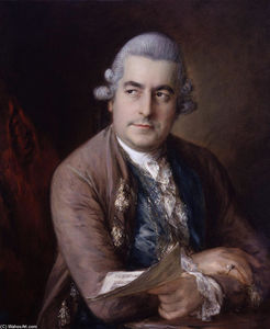 Thomas Gainsborough - Porträt von Johann Christian Bach
