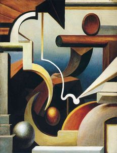 Thomas Hart Benton - Rhythmische Construction