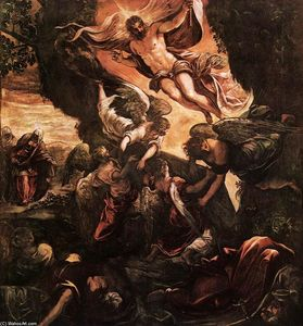 Tintoretto (Jacopo Comin) - Die Auferstehung Christi