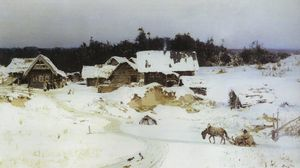 Vasily Dmitrievich Polenov - Winter. Imochentsy.