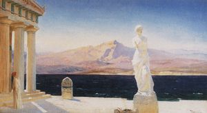 Vasily Polenov - Die Ghosts of Hellas