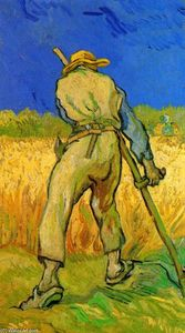 Vincent Van Gogh - The Reaper nach Hirse