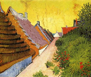 Vincent Van Gogh - Straße in Saintes-Maries